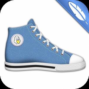 app para diseñar zapatos divertidos