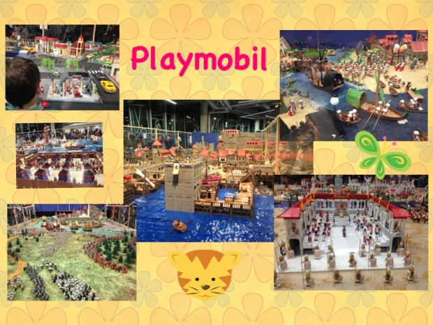 Composicion Expo Playmobil