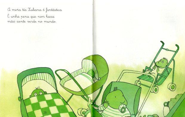 Mi tía es verde (ediciones sm)