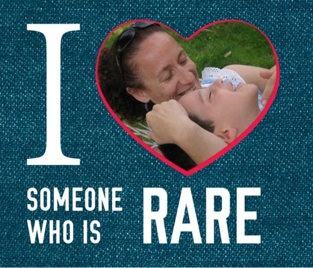 I love someone who is rare. 28 February: Rare Disease Day Quiero a alguien raro. 28 febrero: Dia de las Enfermedades Raras