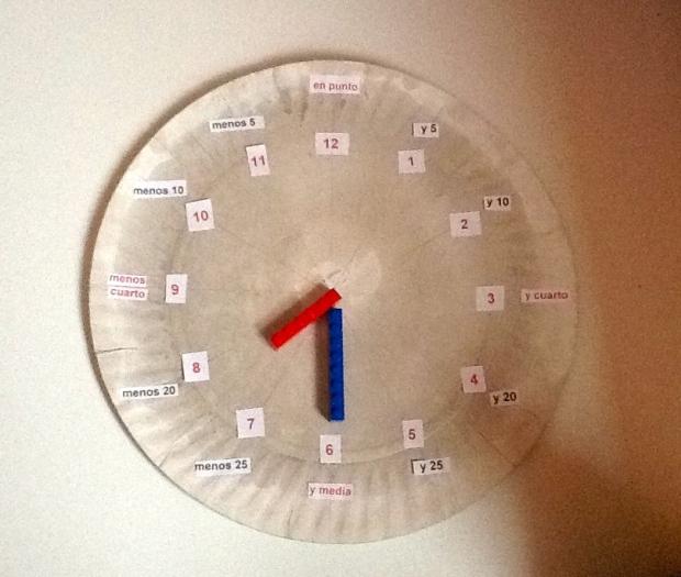 Recursos para enseñar la hora a los niños
