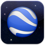 Google Earth app for iPad