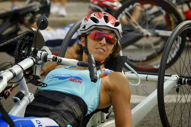 Mila Lopez Vernet handbike
