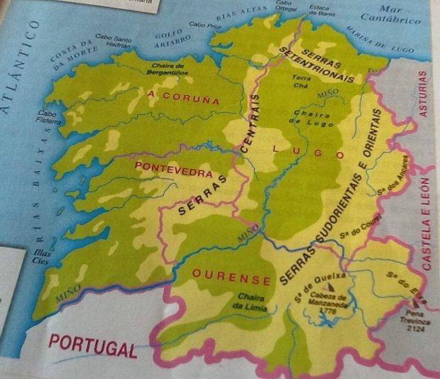 limites galicia mapa