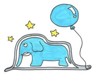 El elefante azul 2