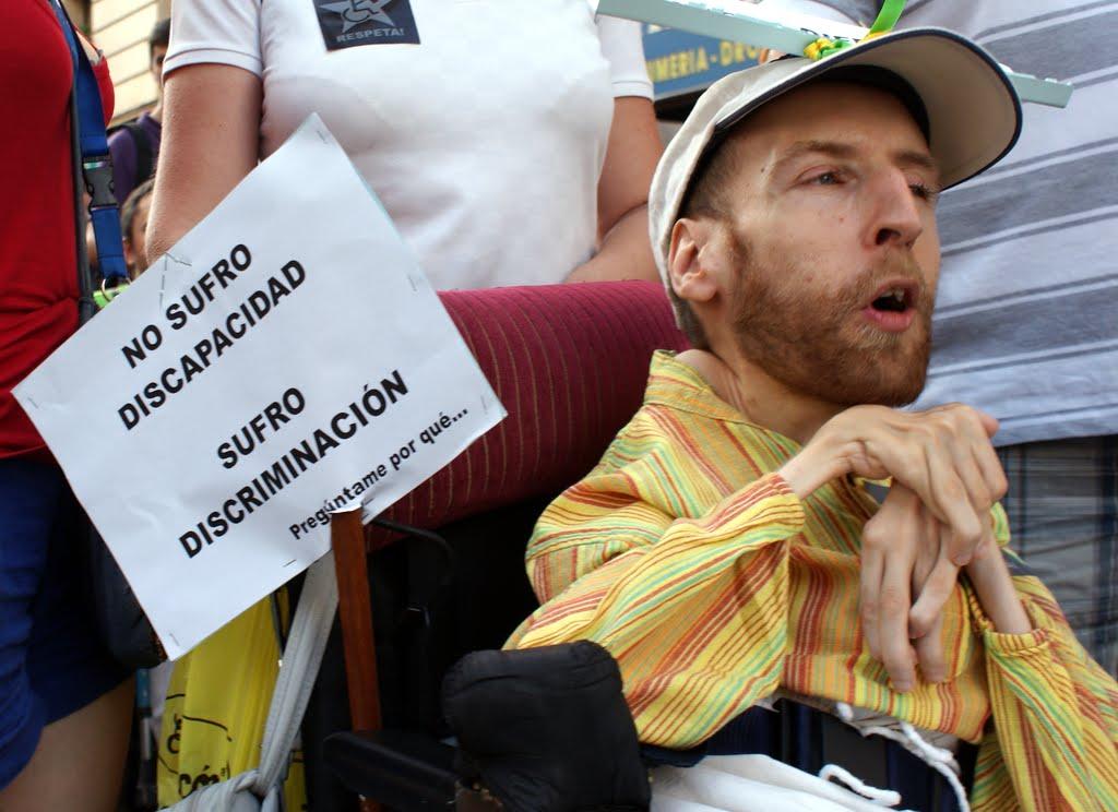 """Paco Guzmán: """"No sufro discapacidad, sufro discriminación"""""""