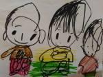 Estos son los maravillosos dibujos de un niño que no tuvo la suerte de encontrar a profesionales que respetaran sus derechos y le dieran su sitio en la escuela ordinaria